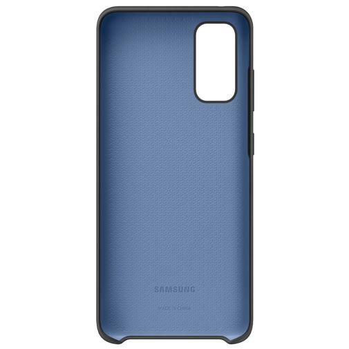 Productafbeelding van de Samsung Silicone Cover Black Galaxy S20