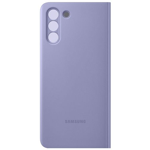 Productafbeelding van de Samsung Smart Clear View PC Book Case Paars Samsung Galaxy S21+