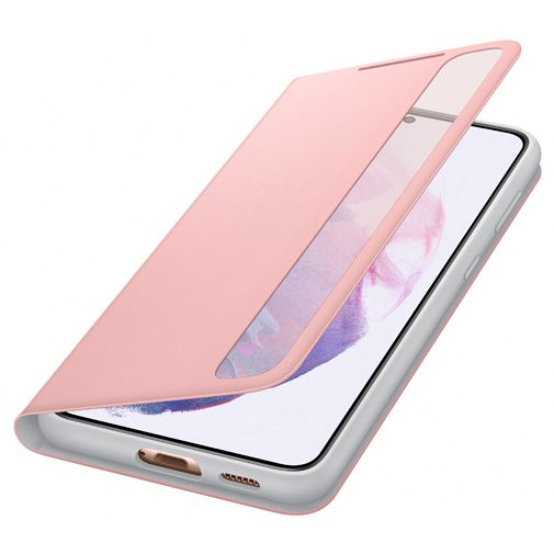 Productafbeelding van de Samsung Smart Clear View PC Book Case Roze Samsung Galaxy S21+