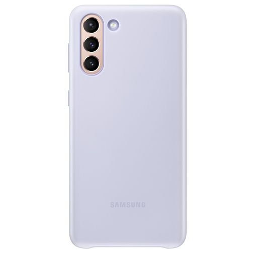 Productafbeelding van de Samsung Smart LED PC Back Cover Paars Samsung Galaxy S21+