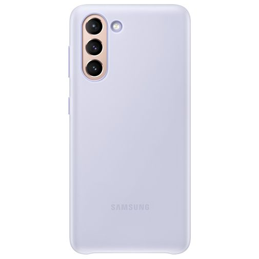 Productafbeelding van de Samsung Smart LED PC Back Cover Paars Samsung Galaxy S21