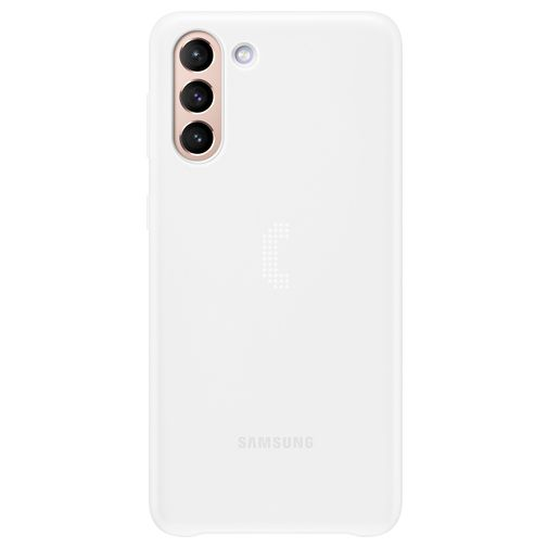 Productafbeelding van de Samsung Smart LED PC Back Cover Wit Samsung Galaxy S21+