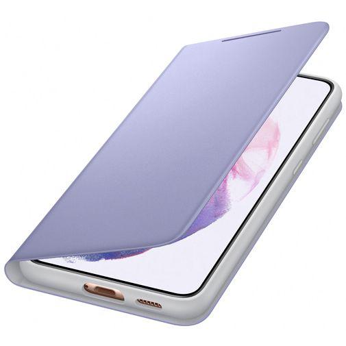 Productafbeelding van de Samsung Smart LED View PC Book Case Paars Samsung Galaxy S21+