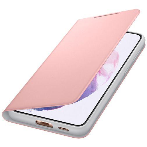 Productafbeelding van de Samsung Smart LED View PC Book Case Roze Samsung Galaxy S21+