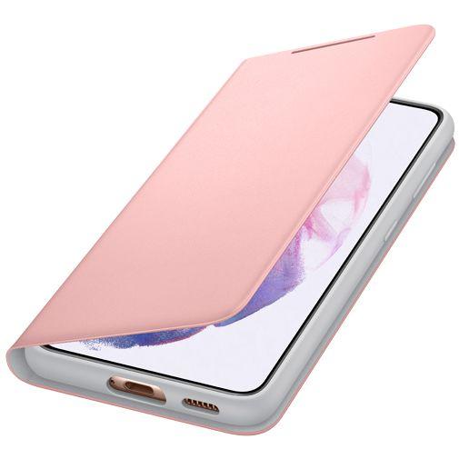 Productafbeelding van de Samsung Smart LED View PC Book Case Roze Samsung Galaxy S21