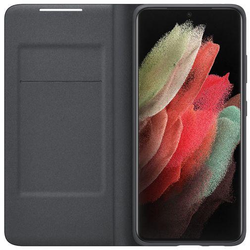 Productafbeelding van de Samsung Smart LED View PC Book Case Zwart Samsung Galaxy S21 Ultra