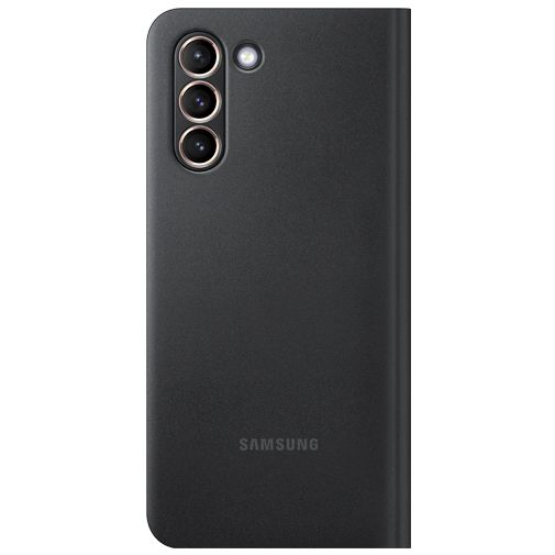 Productafbeelding van de Samsung Smart LED View PC Book Case Zwart Samsung Galaxy S21