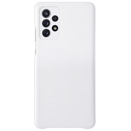 Productafbeelding van de Samsung Smart S View Wallet Kunststof Book Case Wit Samsung Galaxy A72