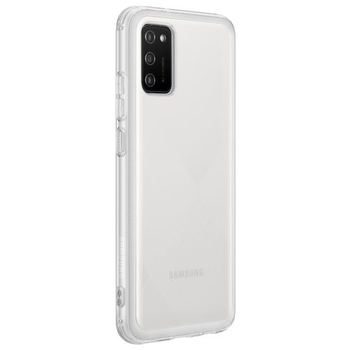 Productafbeelding van de Samsung Soft Clear Kunststof Back Cover Transparant Samsung Galaxy A02s