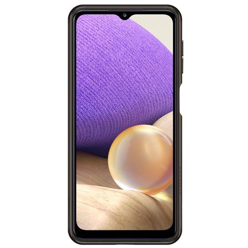 Productafbeelding van de Samsung Soft Clear Kunststof Back Cover Zwart Samsung Galaxy A32