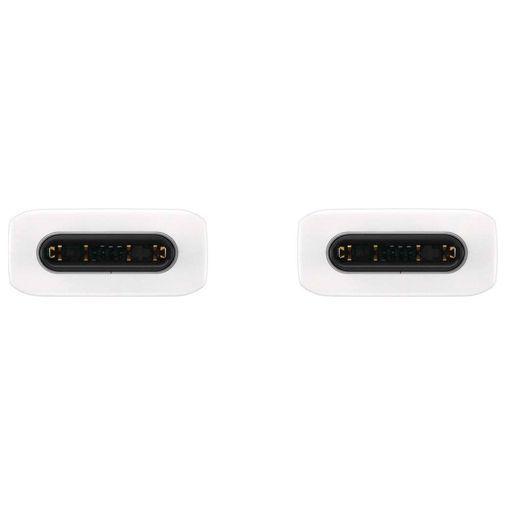 Produktimage des Samsung USB-C auf USB-C Kabel (3A) 1 Meter EP-DA705 Weiß