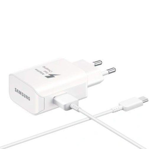 Productafbeelding van de Samsung USB-C Snellader 25W + USB-C kabel EP-TA300 White