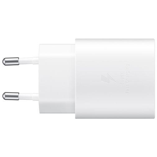 Productafbeelding van de Samsung USB-C Snellader 25W Wit