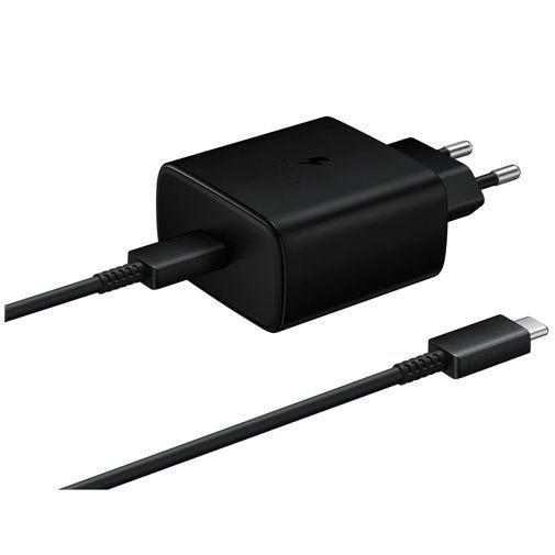 Productafbeelding van de Samsung USB-C Snellader 45W + USB-C kabel EP-TA845 Black