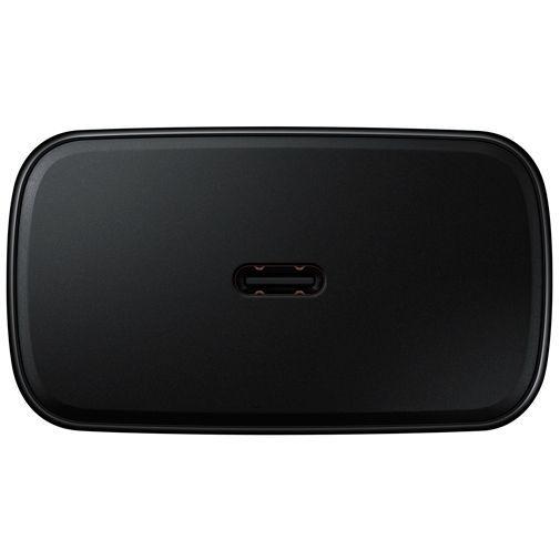 Produktimage des Samsung USB-C Ladeadapter mit Schnellladefunktion 45W + USB-C Kabel EP-TA845 Schwarz
