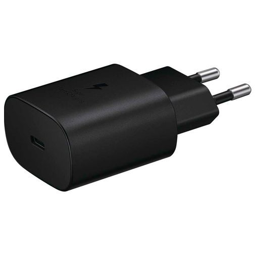 Productafbeelding van de Samsung USB-C Snellader 25W + USB-C kabel EP-TA800 Black
