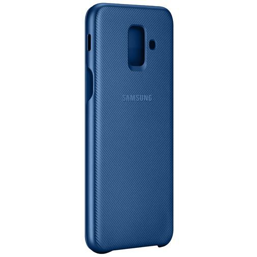 Productafbeelding van de Samsung Wallet Cover Blue Galaxy A6