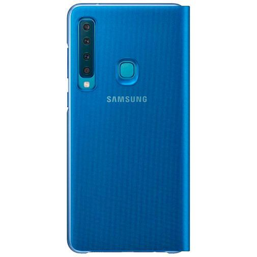 Produktimage des Samsung Wallet Cover Blau Galaxy A9