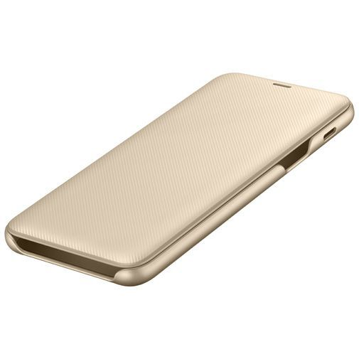 Productafbeelding van de Samsung Wallet Cover Gold Galaxy A6+