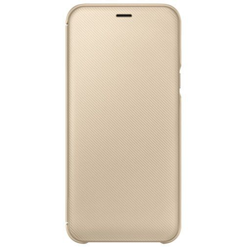 Produktimage des Samsung Wallet Cover Gold Galaxy A6