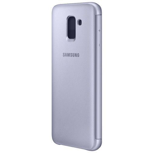 Produktimage des Samsung Wallet Cover Violett Galaxy J6
