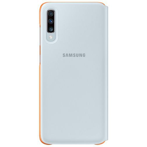 Productafbeelding van de Samsung Wallet Cover White Galaxy A70