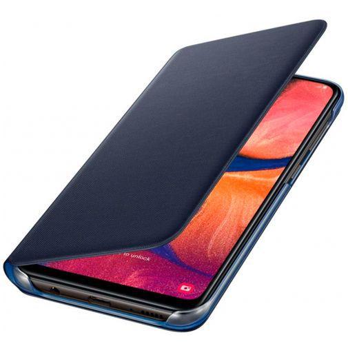 Productafbeelding van de Samsung Wallet Cover Black Galaxy A20e