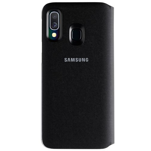 Productafbeelding van de Samsung Wallet Cover Black Galaxy A40