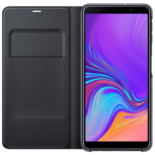 Productafbeelding van de Samsung Wallet Cover Black Galaxy A7 (2018)