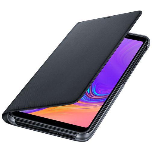 Produktimage des Samsung Wallet Cover Schwarz Galaxy A7 (2018)