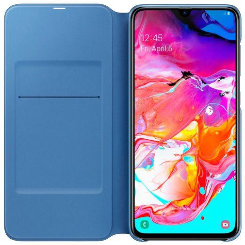 Productafbeelding van de Samsung Wallet Cover Black Galaxy A70