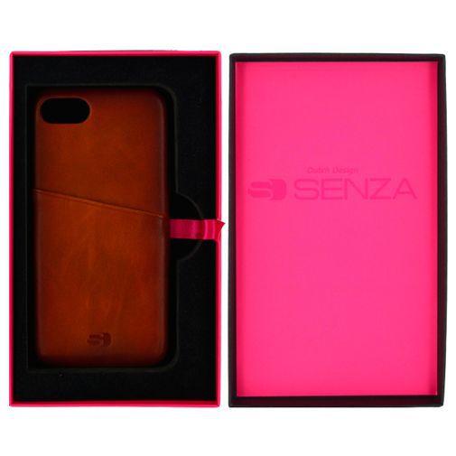 Productafbeelding van de Senza Desire Leather Cover + Card Slot Brown Apple iPhone 7/8/SE 2020