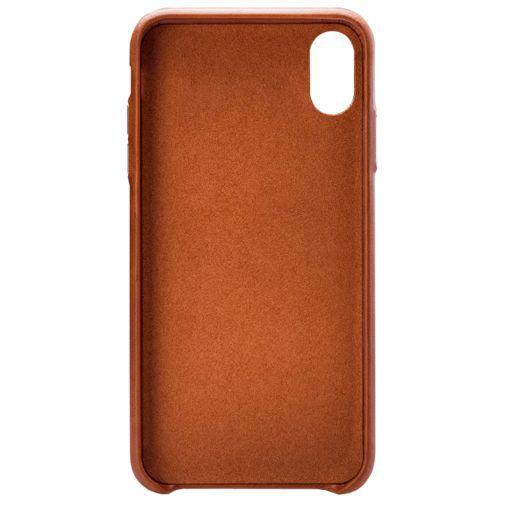 Produktimage des Senza Desire Lederhülle + Kartenfach Braun Apple iPhone XR