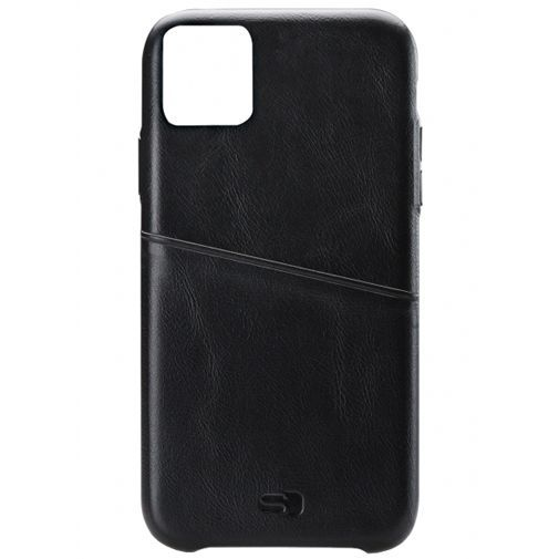 Productafbeelding van de Senza Pure Leather Cover + Card Slot Black Apple iPhone 11