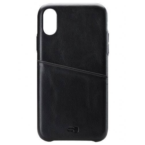 Productafbeelding van de Senza Pure Leather Cover + Card Slot Black Apple iPhone XR