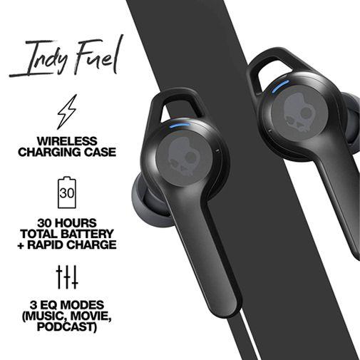 Productafbeelding van de Skullcandy Indy Fuel True Wireless Black