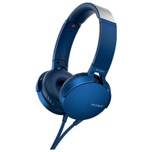 Productafbeelding van de Sony MDR-XB550AP Blue