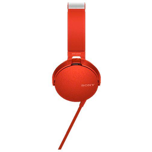 Productafbeelding van de Sony MDR-XB550AP Red