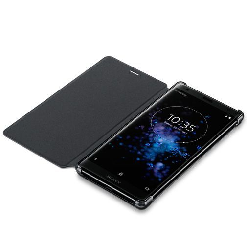 Productafbeelding van de Sony Style Cover Stand SCSH40 Black Xperia XZ2