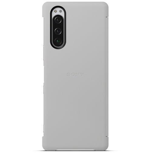 Produktimage des Sony Style Cover View SCVJ10 Grau Xperia 5