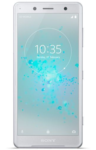 Productafbeelding van de Sony Xperia XZ2 Compact Single Sim Silver