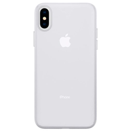 Productafbeelding van de Spigen AirSkin Kunststof Back Cover Transparant Apple iPhone XS
