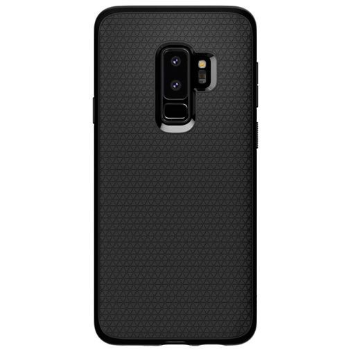 Productafbeelding van de Spigen Liquid Air Case Black Samsung Galaxy S9+