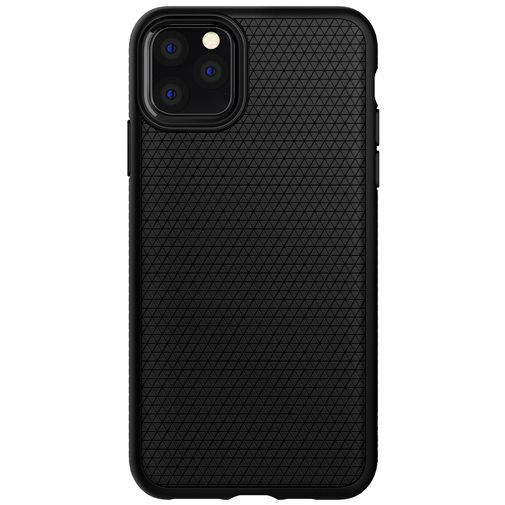 Productafbeelding van de Spigen Liquid Air Case Black Apple iPhone 11 Pro Max