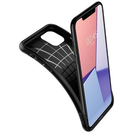 Productafbeelding van de Spigen Liquid Air Case Black Apple iPhone 11