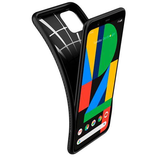 Produktimage des Spigen Liquid Air Hülle Schwarz Google Pixel 4 XL
