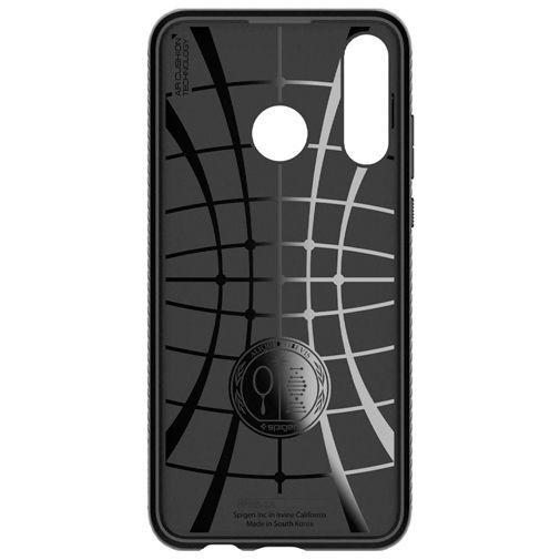 Productafbeelding van de Spigen Liquid Air Case Black Huawei P30 Lite/P30 Lite New Edition