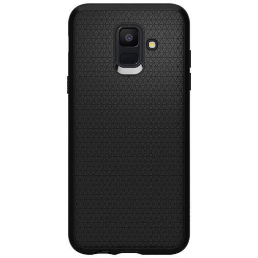 Produktimage des Spigen Liquid Air Hülle Schwarz Samsung Galaxy A6