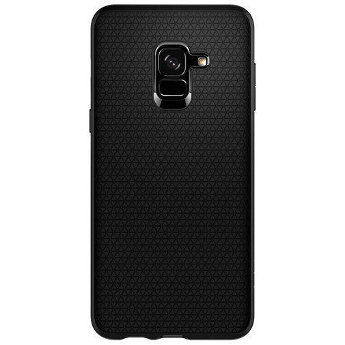 Produktimage des Spigen Liquid Air Hülle Schwarz Samsung Galaxy A8 (2018)