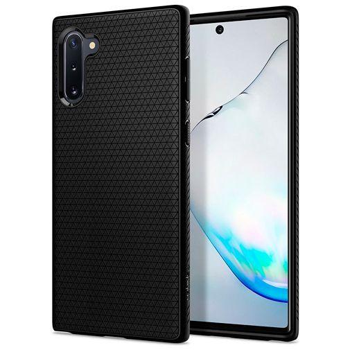 Productafbeelding van de Spigen Liquid Air Case Black Samsung Galaxy Note 10